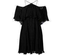 Schulterfreies Seidenkleid - women - Seide - 36