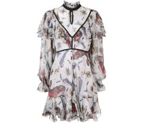 'Selene' Kleid mit Volants