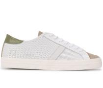 D.A.T.E. Sneakers mit Netzeinsätzen