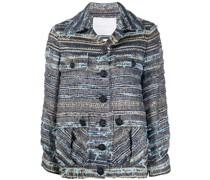 Tweed-Jacke mit Taschen