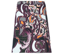 Baroccoflage mini skirt