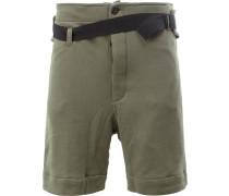 - Shorts mit Gürtel - men - Baumwolle - M