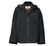 chest logo-print hoodie