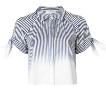 - Gestreiftes Hemd mit Cut-Outs - women