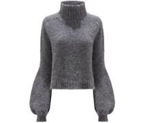 Pullover mit weiten Manschetten