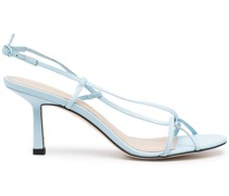 Entwined 70mm leather sandals