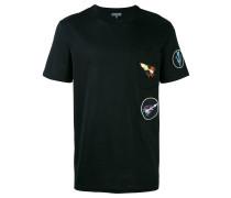 T-Shirt mit Pfeil-Patch