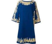 Kleid mit kontrastierenden Kanten
