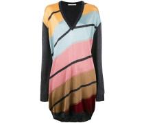 Oversized-Pullover mit Streifen - women
