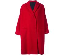 Mantel mit verdecktem Verschluss - women