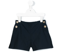 Shorts mit Zierknöpfen - kids - Baumwolle - 6 J.