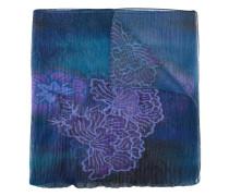 Schal mit Blumen-Print - women - Polyester