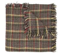 Langer Schal mit Hahnentrittmuster