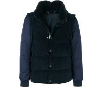 gilet-look padded jacket