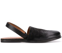 Geschlossene Slingback-Sandalen
