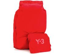 Rucksack mit zusätzlicher Tasche