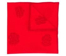 Schal mit Rosen-Print