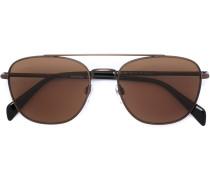 Pilotenbrille mit dünnem Rahmen