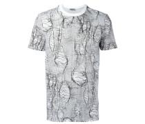T-Shirt mit abstraktem Print - men - Baumwolle
