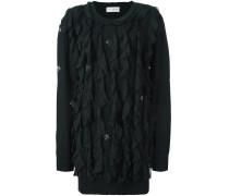 Jerseykleid mit Rüschen