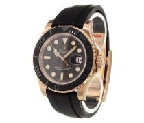 'Yacht-Master' Armbanduhr mit Rotgoldgehäuse