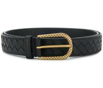 intrecciato woven belt
