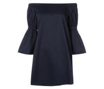 Schulterfreies Minikleid - women - Baumwolle - 4