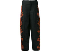 embroidered folk trousers