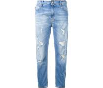 Boyfriend-Jeans - women - Baumwolle/Elastan - XS