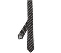 Krawatte mit Logo-Stickerei