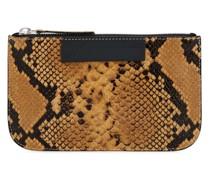 Bresly Portemonnaie mit Schlangen-Effekt