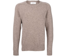 Saddle round neck jumper