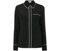 concealed button blouse