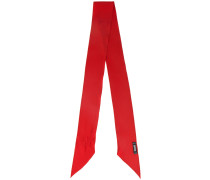 Red classic neck tie scarf
