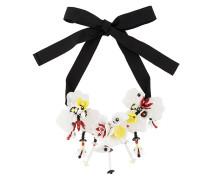 P.A.R.O.S.H. Halskette mit floralen Anhängern