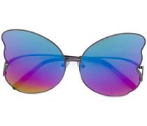 Sonnenbrille in Schmetterlingsoptik