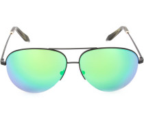 Pilotenbrille mit bunten Gläsern