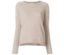 relaxed crew neck jumper