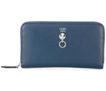 - logo zip purse - women - Leder - Einheitsgröße