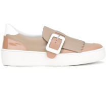 Slip-On-Sneakers mit Schnalle - women