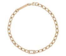 14kt Goldarmband mit Diamanten