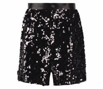 sequin-embellished shorts