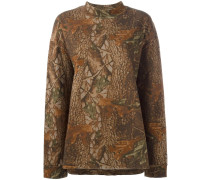 'Season 3' Sweatshirt mit Camouflage-Print