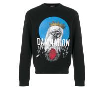 """Sweatshirt mit """"Damnation""""-Print"""