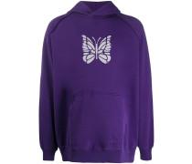 Kapuzenpullover mit Schmetterling