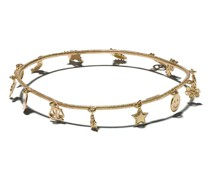 18kt 'Lucky Charm Florentine' Gelbgoldarmband