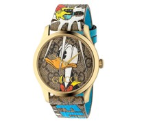 x Disney 'G-Timeless Donald Duck' Armbanduhr, 38mm
