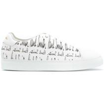 Sneakers mit grafischem Print
