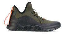 appliqué high-top sneakers