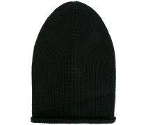 long knitted beanie